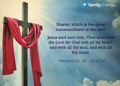 Message - Bible greatest commandment